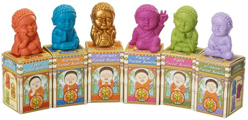 Pocket Buddha, Harmony (Blue)