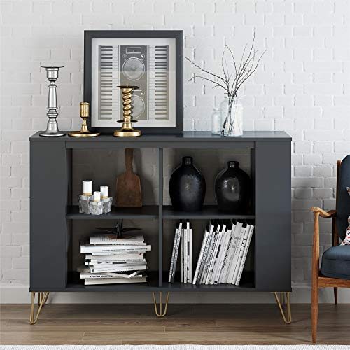 - Owen 3 Shelf Bookcase, Black