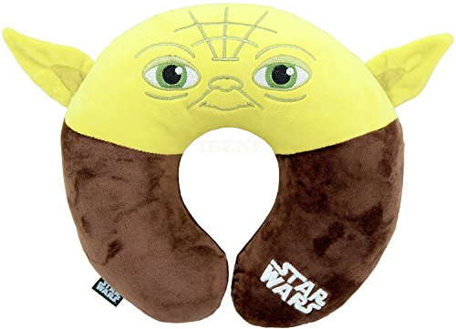 Star Wars Yoda Neck Pillow Cushion