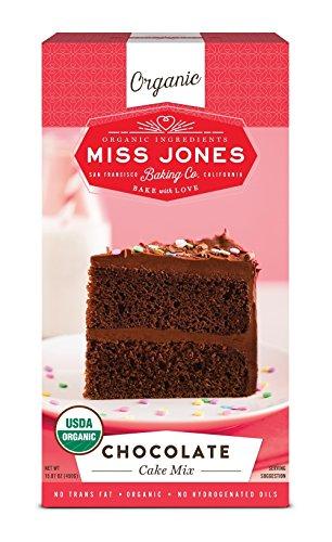 Miss Jones Baking Organic Cake Mix, Chocolate (Pack of (Chocolate Cupcake Mix)
