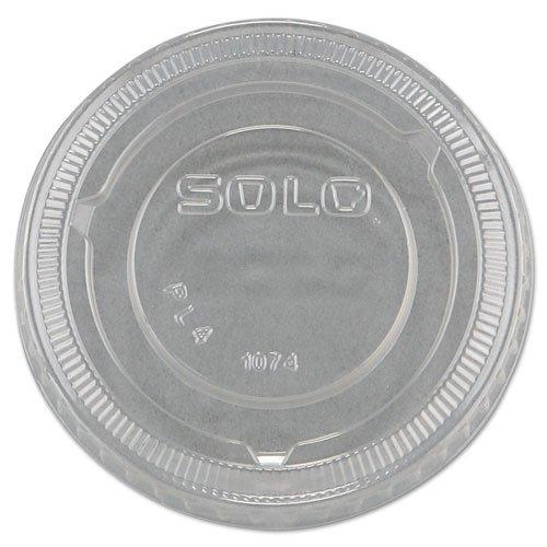 Solo Cup Company No-Slot Plastic Cup Lid, 3.25-9oz Cups, ...