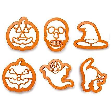 Zeus Party Kit 6 stampini tagliapasta Halloween - Zucca Strega Fantasma  Teschio Gatto per i Tuoi fe9a23e8b753