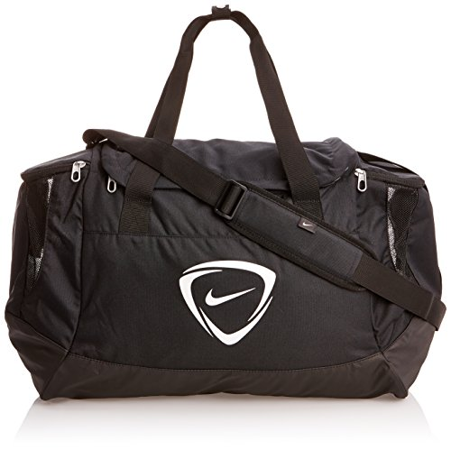 "Nike Unisex Club Team Gym Medium Duffle Bag M/52Liters L21"" x H15"" x W11"" Black"