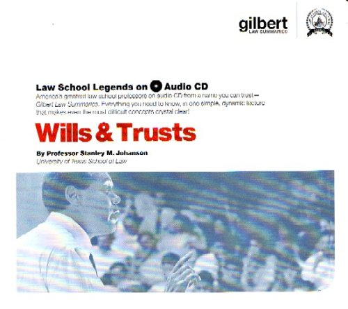 Law School Legends Wills & Trusts (Law School Legends Audio Series)