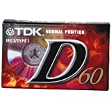 TDK D 60 EB Audio-Kassette (60min)