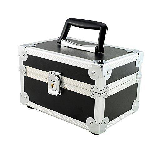 Careshine Aluminum Box for Dental Surgical Medical Binocular Loupes Dentist Loupe Box Black