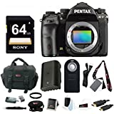 Pentax K-1 Full Frame camera with 64GB accessory bundle