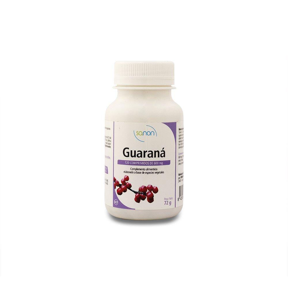 SANON - SANON Guaraná 120 comprimidos de 600 mg: Amazon.es: Salud y cuidado personal