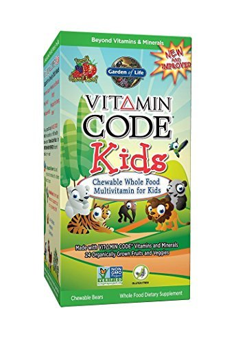 Garden of Life Vitamin Code Kids, 30 Chewables (3 Pack)
