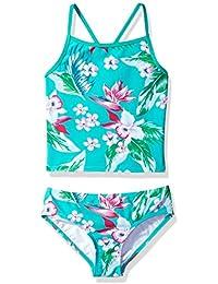 71b4a332a801b Girls' Melanie Beach Sport 2-Piece Banded Tankini Swimsuit