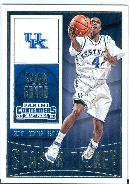 Rajon Rondo basketball card (University of Kentucky Wildcats JC) 2015 Contenders Season Ticket #81