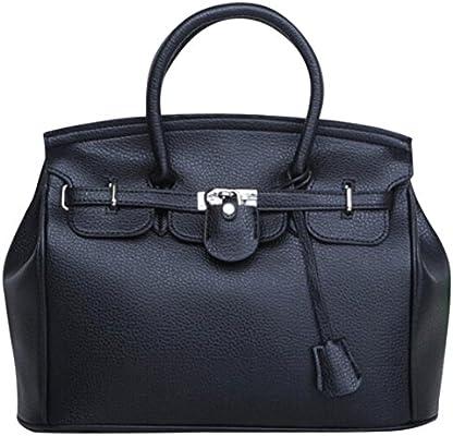 184888f35000 Amazon.com  Hot sale!Todaies Simple Larger Capacity Leather Women Shoulder bag  Handbag Black (37cm(L)29(H)16cm(W)