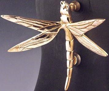 Mayer Mill Brass   DFK 1   Dragonfly Door Knocker