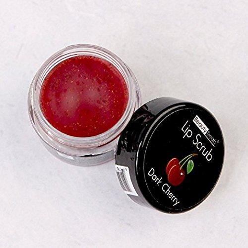 Beauty Treats Lip Scrub with Almond Creme Wild Apple Vanilla Bean Dark Cherry All 4 Full Set by Beauty Treats (Image #4)