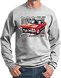 Dodge Red Challenger Sweatshirt, Ash, Large