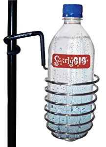 SwirlyGig SG1010 Drink Holder for 1/2 Tubing, Chrome