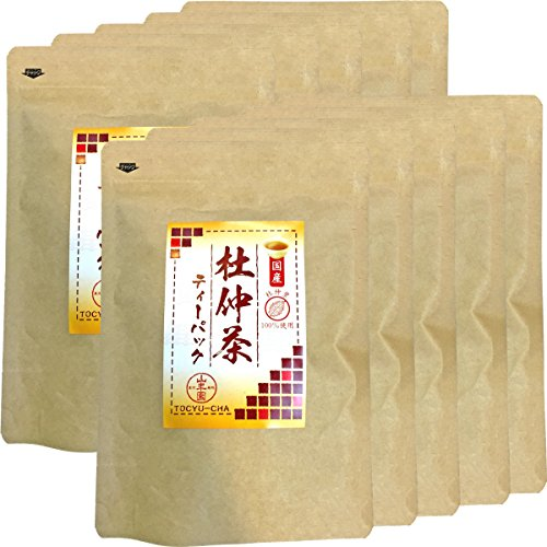 Japanese Tea Shop Yamaneen Eucommia Ulmoides-Tea Without Agricultural Chemicals Made In Nagano 60G x 10packs by Japanese Tea Shop Yamaneen