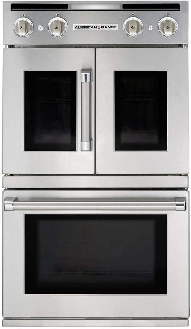 American Range AROFSG230N Legacy Series 30 Inch 9.4 cu. ft. Total Capacity Gas Double Wall Oven with 4 Oven Racks, in Stainless Steel