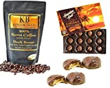 Kona Bean Co. Estate Grown 100% Kona Coffee 8oz - The Finest Gourmet Kona Coffee For the Discerning Coffee Lover - Highest Quality of Kona Arabica Coffee Beans Grown on Hawaii's Kona Gold Coast- Estate Grown - Shade Grown - Hand Picked - Wate...