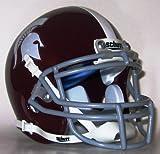 Burnt Hills-Ballston Lake Spartans High School Mini Helmet - Burnt Hills, NY