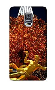 Excellent Galaxy S5 Case Tpu Cover Back Skin Protector New Year (67) by supermalls