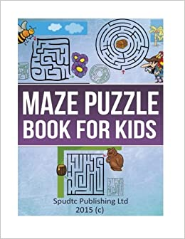 Book Maze Puzzle Book for Kids