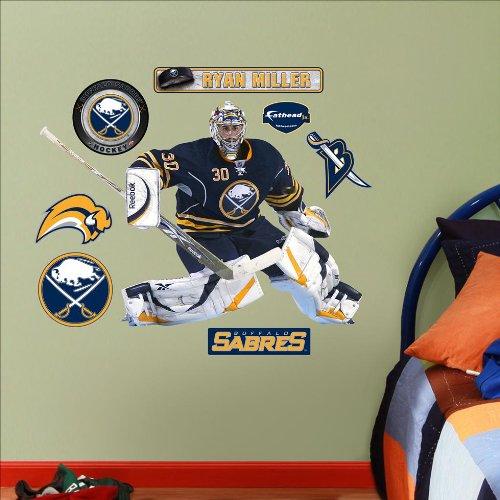 Sabres Jr Hockey Buffalo - NHL Buffalo Sabres Ryan Miller Junior Wall Graphic