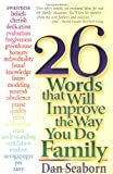 img - for 26 Words That Will Improve the Way You Do Family book / textbook / text book