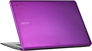 "mCover Hard Shell Case for 15.6"" Acer Chromebook 15 CB515 series (NOT compatible with older C910 / CB5-571 / CB3-531 series) Laptop (Purple)"