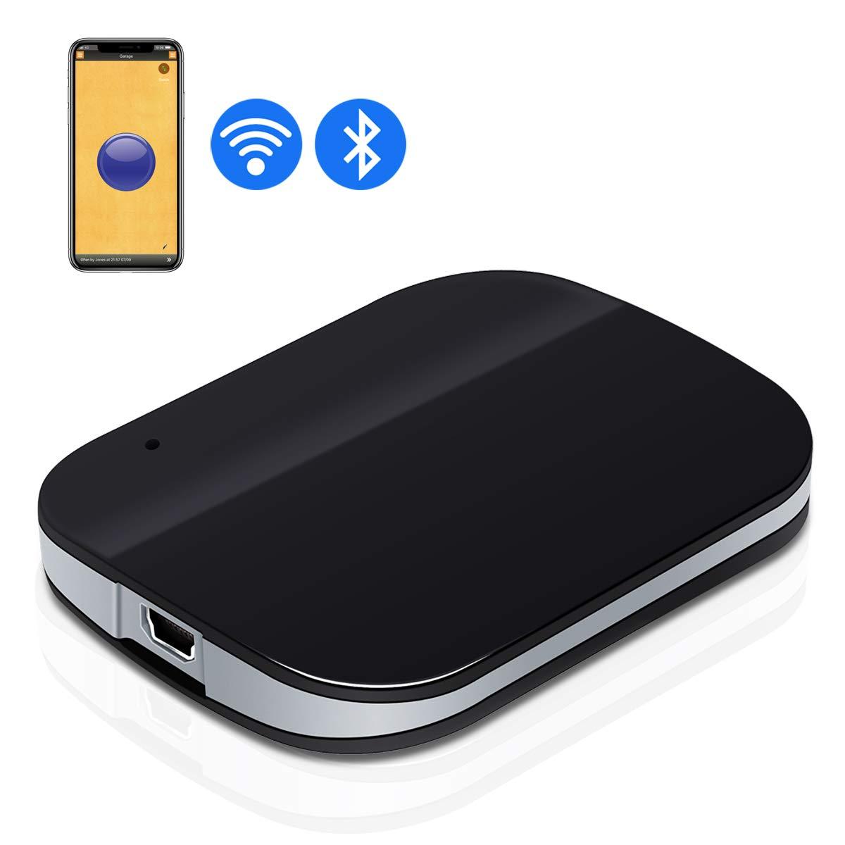DATONTEN Smart Bluetooth & Wi-Fi Garage Door Opener Wireless Garage Door Remote, Open and Close Garage Doors from Anywhere with Your Smartphone