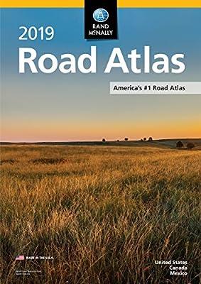 2019 Rand McNally Road Atlas (Rand McNally Road Atlas: United States, Canada, Mexico)