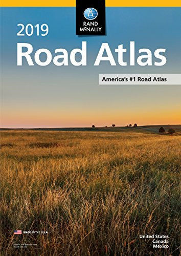 2019 Rand McNally Road Atlas cover