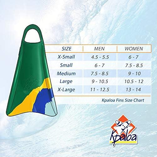Kpaloa Swim fins Pro Model Uri Valad/ão Brazil Bodyboarding