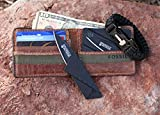 New-Combo-Pack-Kershaw-Vedder-325-Blade-Black-Self-Defense-Weapon-Ultimate-Survival-Tool-for-Zombie-Apocalypse-Survival-Kit-w-Free-550-Paracord-Bracelet-Credit-Card-Knife-Survival-Life