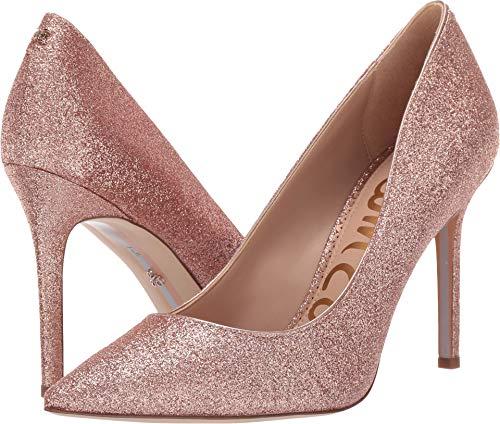 (Sam Edelman Women's Hazel Rose Gold Mini Glitter 8.5 W US)