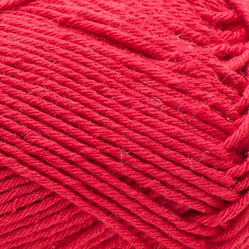 PATONS Hempster Yarn, Red