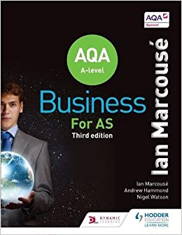Book Aqa Business for as (Marcouse)