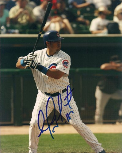 Photograph Chicago Cubs Soto - GEOVANNY SOTO CHICAGO CUBS SIGNED 8X10 PHOTO W/COA