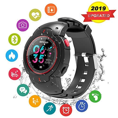 Sport Watch,Bluetooth Smart Watchs,Watch Sport with Heart Rate Monitor,Touchscreen Sport Watches with Sleep Monitor Step Calorie Counter Waterproof Smart Watches Fitness Tracker for Android and iOS