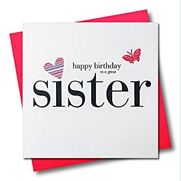 Claire giles hearts and stars happy birthday sister card amazon claire giles hearts and stars happy birthday sister card bookmarktalkfo Gallery