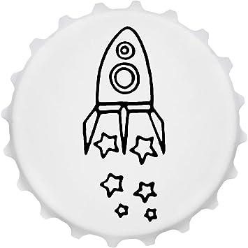 Azeeda Cohete Estrellas Imán del Refrigerador del Abrebotellas (BO00015419)
