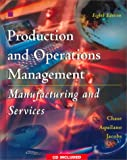 img - for Production and Operations Management: Manufacturing and Services (The Irwin/McGraw Hill series) book / textbook / text book