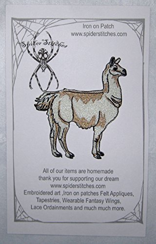 Epic Cream Blonde Llama Iron on Patch (Homemade Costumes For Dogs For Halloween)