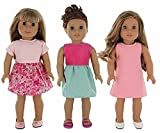 Doll Clothes for American Girl - 3 Outfit Pack for 18'' Doll Clothes