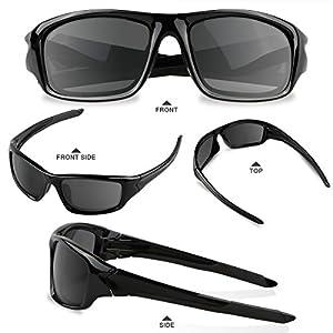 5dde53632db AKASO Polarized Sports Sunglasses