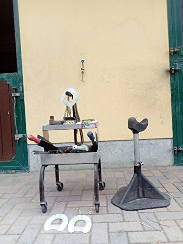 Green Hoof Stand - The Blacksmith Model by HOOF-it (Green) by HOOF-IT (Image #1)