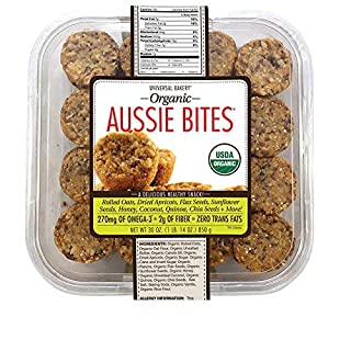 Universal Bakery Expect More Organic Aussie Bites, 32 count - PACK OF 3