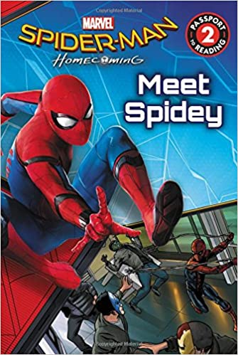 Amazon Spider Man Homecoming Meet Spidey Passport To Reading 9780316438346 Charles Cho Books