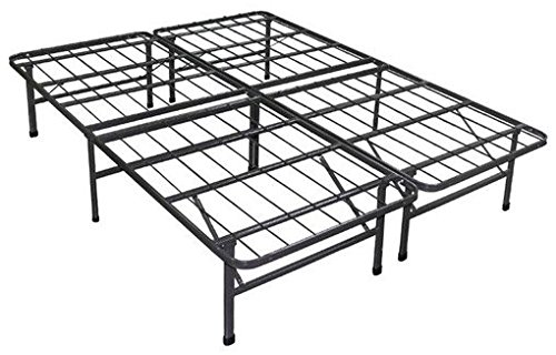 California Frame (Zinus 14 Inch SmartBase Mattress Foundation / Platform Bed Frame / Box Spring Replacement / Quiet Noise-Free / Maximum Under-bed Storage, Cal King)