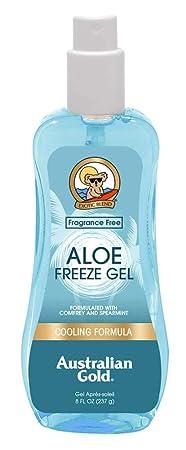 Australian Gold Aloe Freeze Spray Gel 8 Ounce 235ml 3 Pack